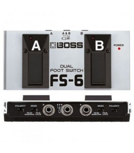 Boss FS-6 Pedal Corte Dual Footswitch