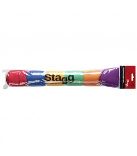 Stagg WS-S49/C6 Antivientos Pack 5 Colores