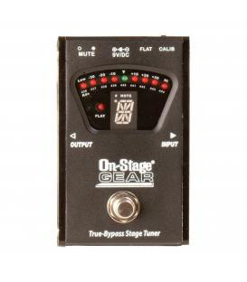 On Stage GTA7800 Afinador True-bypass Pedal Tuner