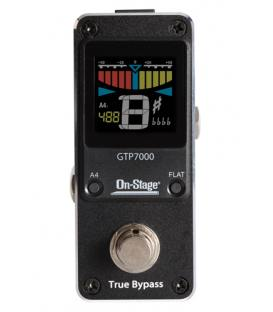 On Stage GTP7000 Afinador Mini Pedal Tuner