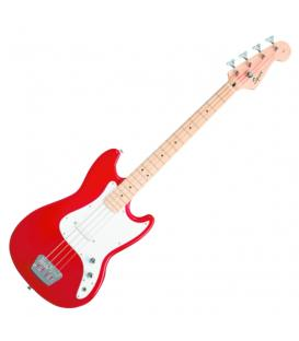 Fender Squier Affinity Bronco Bass MN TRD Rojo