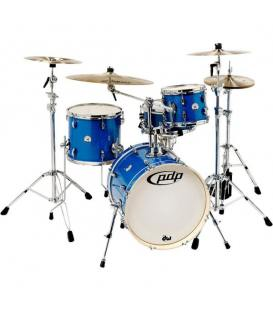 DW PDP New Yorker Shell Set Blue Sparkle 18""
