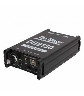 On Stage DB2150 Stereo USB Direct Box