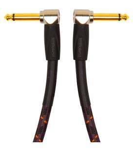 Roland RIC-G1AA Cable J/J Gold Angulo Doble 30cm