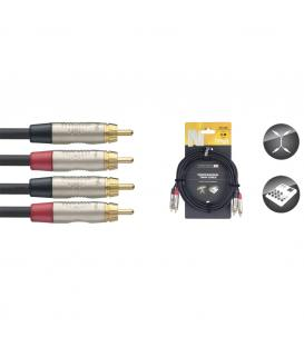 Stagg Twin RCA/RCA 3m