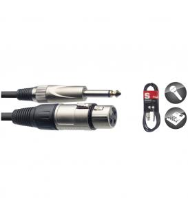 Stagg XLR/Jack SMC3XP Cable Micro 3m