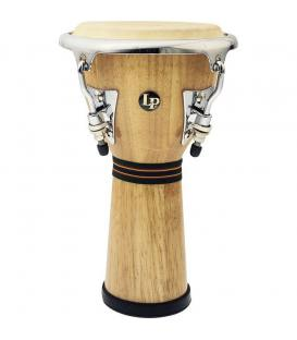 LPM-196-AW Mini Tunable Natural Djembe Cromo