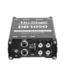 On Stage DB1050 Passive Multi-Media DI Box
