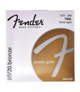 Fender 70XL 80/20 Bronze (10-48)