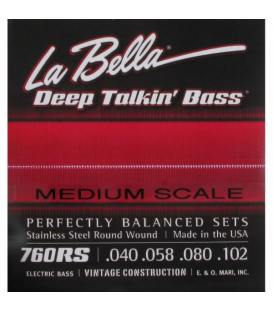La Bella 760RS (40-102) Round Wound
