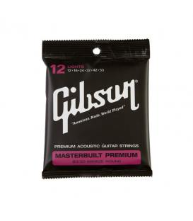 Gibson Masterbuilt Premium Phosphor Bronze .012-.053 Light