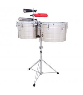 "LP-258-S Timbales Thunder 15""-16"" Acero"