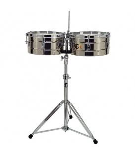 "LP-256-S Timbales Tito Puente Acero 13""-14"""