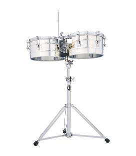 "LP-255-S Timbales Tito Puente Acero 12""-13"""