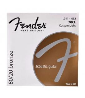 Fender 70CL 80/20 Bronze (11-52)