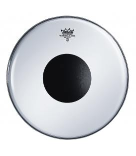 "Parche Remo Controlled Sound Smooth White Black Dot 14"" CS-0214-10"