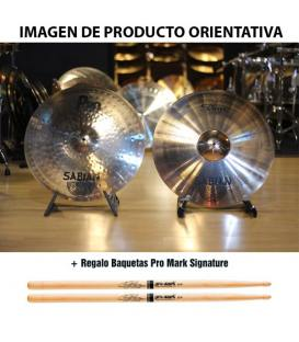 Sabian XS20 Set Rock Performance Brilliant