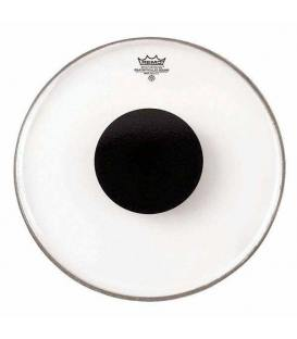 "Parche Remo Controlled Sound Smooth White Black Dot Bombo 22"" CS-1222-10"