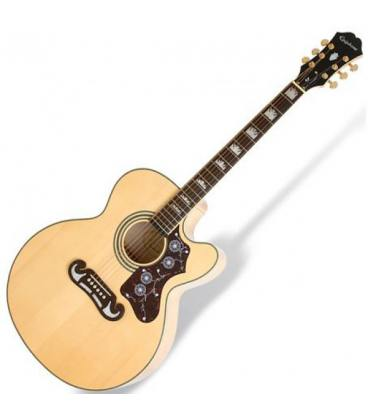 Epiphone EJ-200SCE Natural