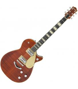 Gretsch G6228FM Players Edition Duo Jet V Flame Bourbon Stain