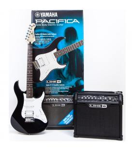 Yamaha Pacifica 012 BLK & Line 6 Spider Classic 15w Pack