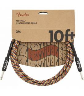 Fender Festival Cable Rainbow 3m