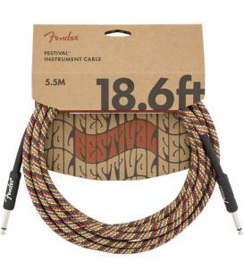 Fender Festival Cable Rainbow 5,5m