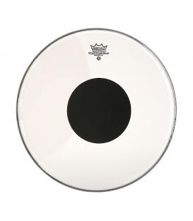 """Remo Controlled Sound Clear Black Dot 14"""" CS-0314-10"""