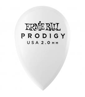 Ernie Ball 9336 Prodigy Teardrop Blanca 2,00mm (Pack 6)