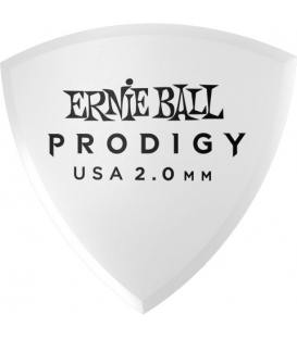 Ernie Ball 9338 Prodigy Shield XL Blanca 2,00mm (Pack 6)