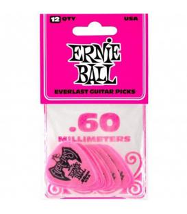 Ernie Ball 9179 Everlast Rosa 0,60mm (Pack 12)