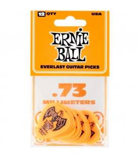 Ernie Ball 9190 Everlast Naranja 0,73mm (Pack 12)