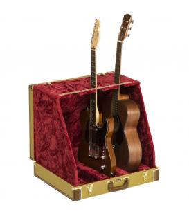 Fender Classic Series Case Stand 3 Guitar Tweed