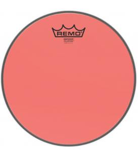 "Remo Emperor Clear 10"" Colortone Red BE-0310-CT-RD"