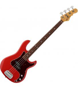 G&L USA Fullerton Deluxe LB-100 Bass Red