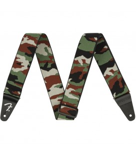 Fender WeighLess Camo Strap Woodland