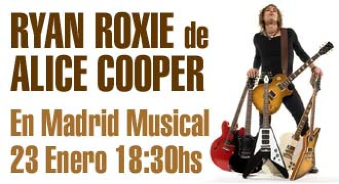 Ryan Roxie en Madrid Musical