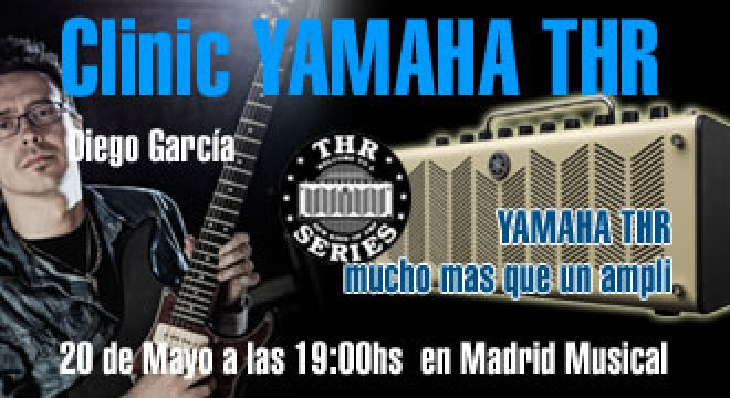 Clinic Yamaha THR en Madrid Musical