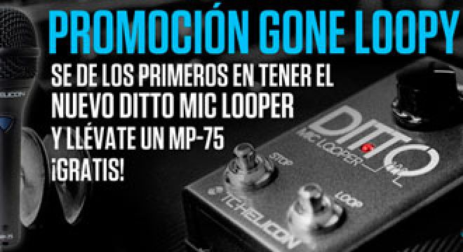 Promo TC-Helicon Ditto Mic Looper