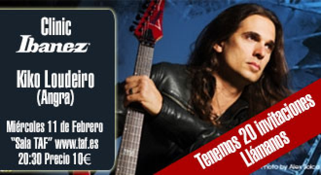 Madrid Musical Malaga8.com te invita al Ibanez Guitar Clinic