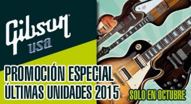 Ultimas unidades Gibson