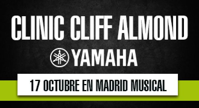 Clinic Yamaha con Cliff Almond