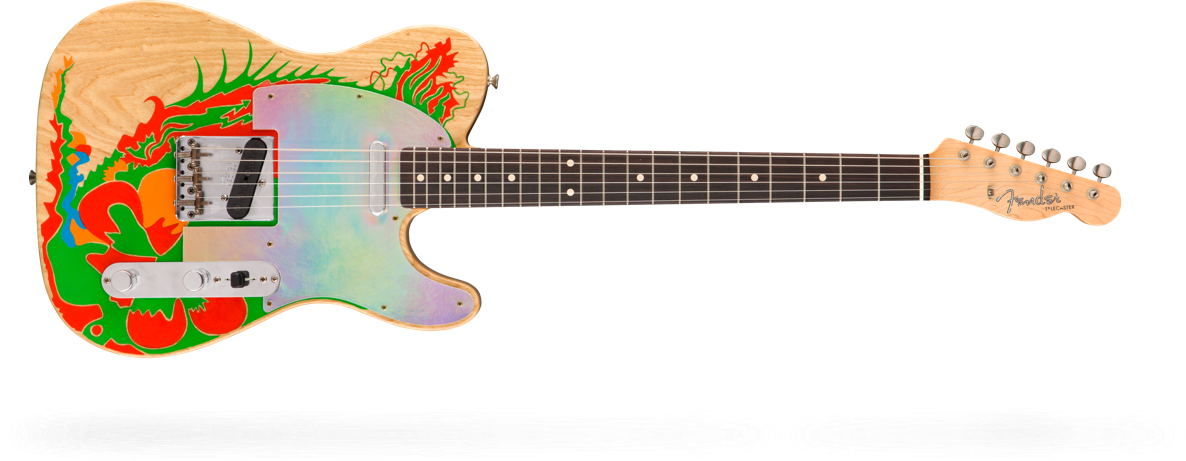 Telecaster Jimmy Page Dragon