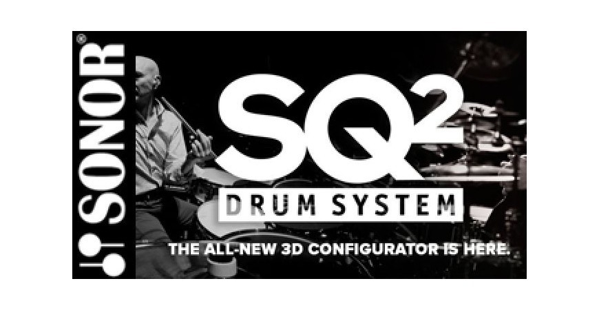 Configurador Sonor SQ2 Drum System