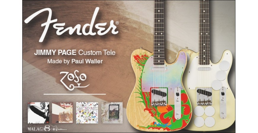 Fender Telecaster Jimmy Page Custom Shop