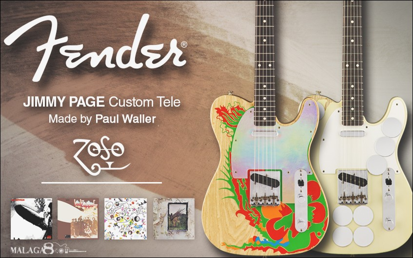 Fender Telecaster Jimmy Page Custom Shop Set